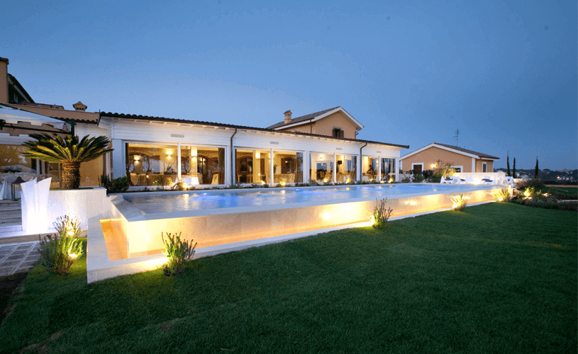 eventi privati casale realmonte roma