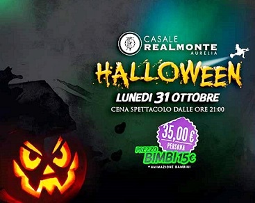 HALLOWEEN DINNER PARTY A CASALE REALMONTE